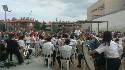 La Banda cierra con éxito su primer concierto estival