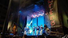 La Nueva Orfeo tocará el sábado en la Plaza Mayor. FB