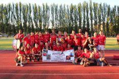 Imagen del Atletismo Numantino en Burgos/ CAN