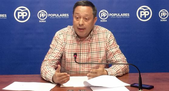Adolfo Sainz, portavoz municipal del grupo Popular en el Ayuntamiento.
