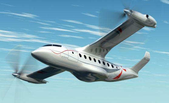 Un modelo 'Rotorcraft' diseñado por Clean Sky 2./CS