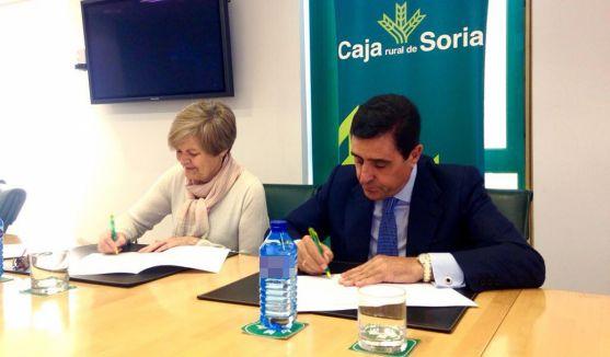 María Cruz Garrido y Carlos Martínez Izquierdo este miércoles./CRS