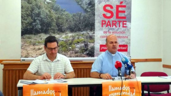 Presentación del informe de Cáritas de Osma-Soria este miércoles. /SN