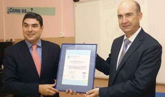 Óscar Abellón (izda.) y Jorge Fábrega./SN