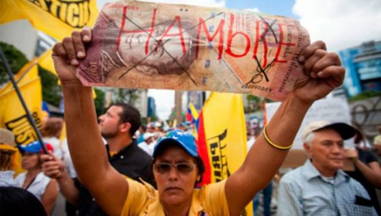 Hay desnutrición aguda en varias zonas del país./noticiasvenezuela.org