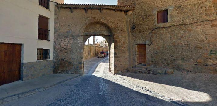 Arco del Tirador, en Ágreda.