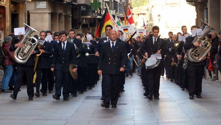 Imagen de la Banda en el Collado./SN