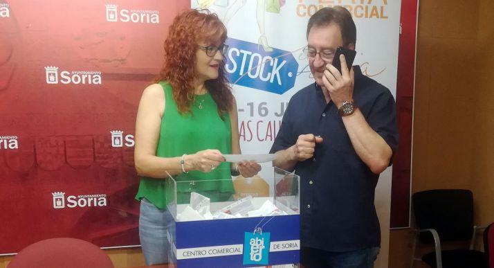 Ana Calvo y Alberto Gil.