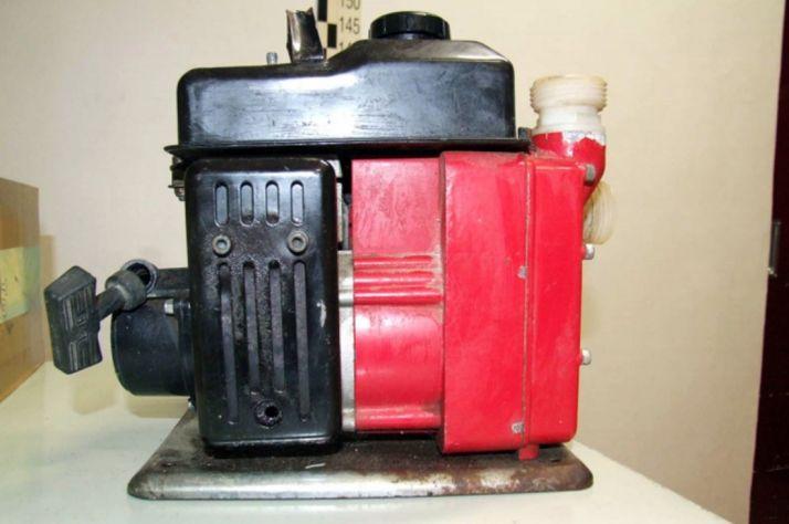 Motor de bombeo recuperado./GC