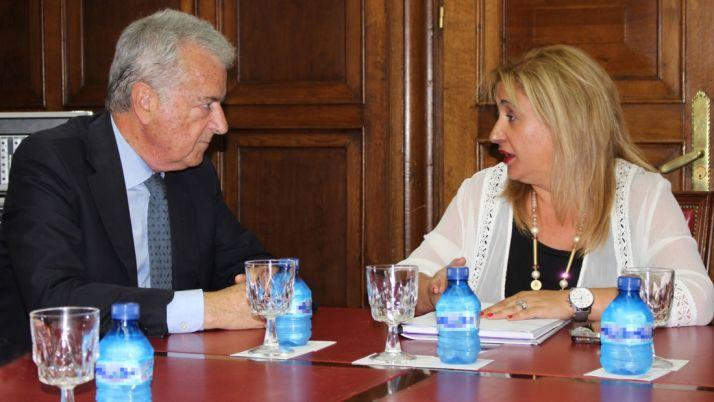 Yolanda de Gregorio y Eduardo Zamarripa este miércoles./SdG