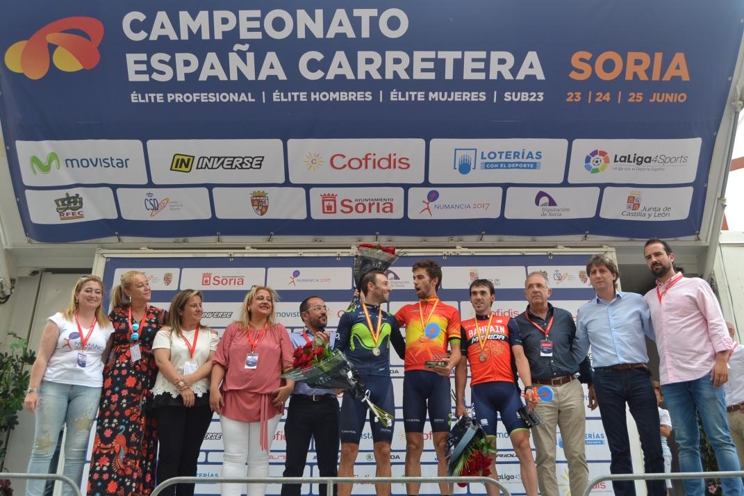 Foto 2 - Fotos: Así ha celebrado Jesús Herrada su victoria en Soria