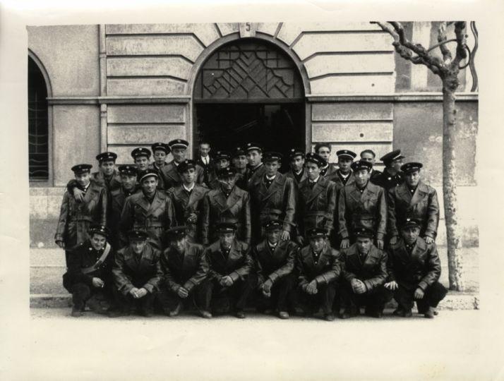 La Guardería Fluvial de la CHD en 1961.