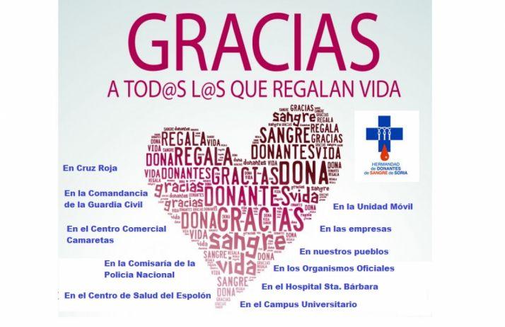 Foto 1 - Agradecimientos de la Hermandad de Donantes