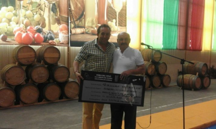 Foto 2 - Bodegas Castillejo de Robledo gana el III Premio Diputación al mejor tinto joven de la Feria del Vino de San Esteban de Gormaz