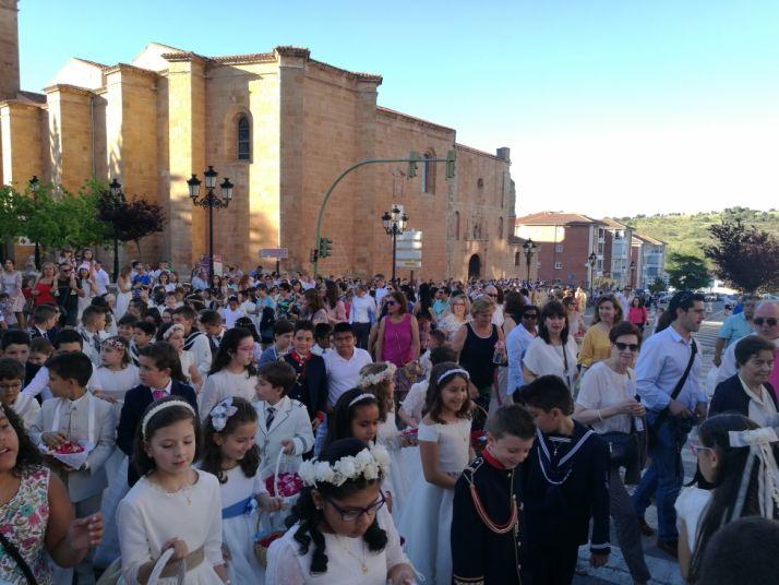 Imágenes de la procesión en Corpus/ SN