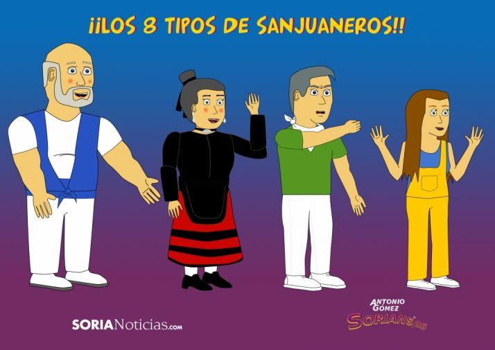 Foto 1 - Los 8 tipos de sanjuaneros