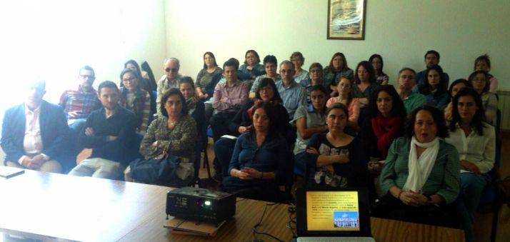 Los docentes en el encuentro./DOS