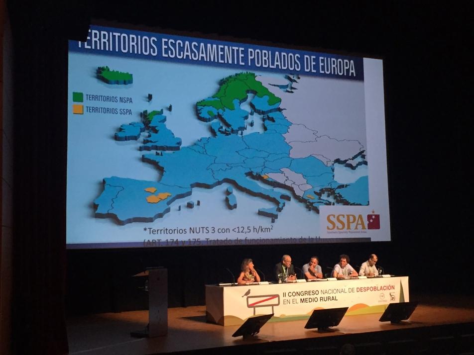 Foto 1 - La SSPA expone sus objetivos en el II Congreso Nacional  de Despoblación de Huesca