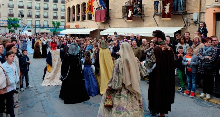 Una recreación en Tarazona.