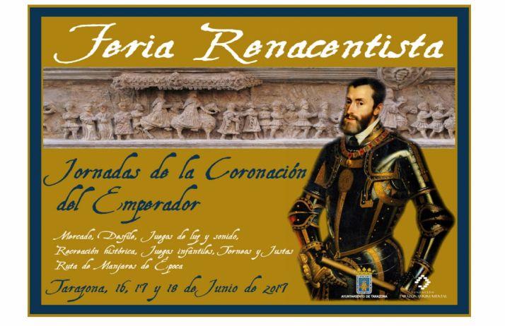 Foto 1 - Las jornadas de la Coronación de Carlos V, este fin de semana en Tarazona