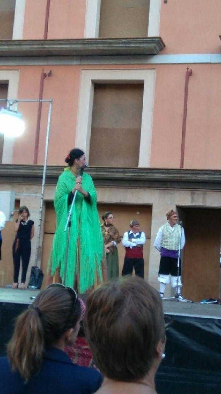 Espectáculo de jotas en Ágreda.