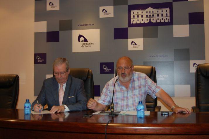 Ángel Crespo y Amancio Martínez. /Dip.
