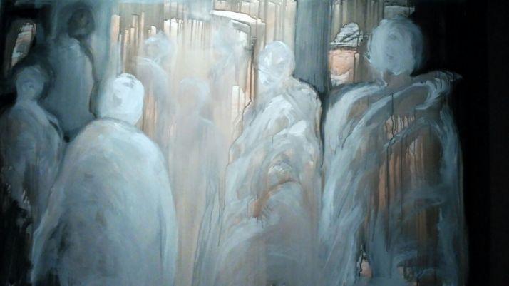 Una de las obras de 'Lux abscondita'/Diócesis