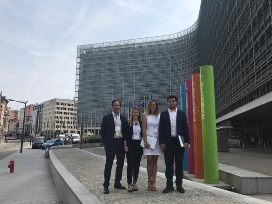 Foto 1 - Soria presente en la 'Semana de la Energía Sostenible de Bruselas'