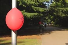 Foto 6 - Globos rojos anuncian las Fiestas de la juventud en Almazán