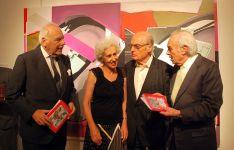 Benjumea, Pilar Linares, Gordillo y D. Carlos Zurita./SN