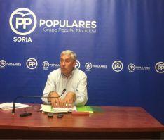 Alberto Rodríguez, concejal del PP.
