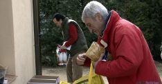 Volunarios del Banco de Alimentos de Soria.