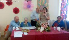La centenaria en su cumpleaños./SN