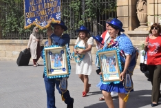 Foto 4 - Soria celebra con la comunidad boliviana su fiesta del Tata Santiago de Bombori