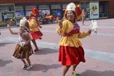 Foto 5 - Soria celebra con la comunidad boliviana su fiesta del Tata Santiago de Bombori
