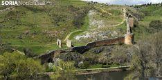 Imagen de la muralla en las orillas del Duero./SN