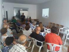 Presentación del taller y los trabajos en el Ayuntamiento de Serón.