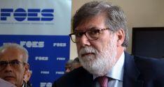 Santiago Aparicio, presidente de FOES./SN