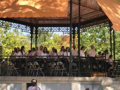 La Banda de Soria, en El Retiro. /Ayto.