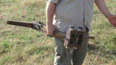 Exhibición de tiro con armamento romano. /A.G.