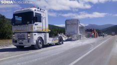 Imagen del vehículo siniestrado./SN