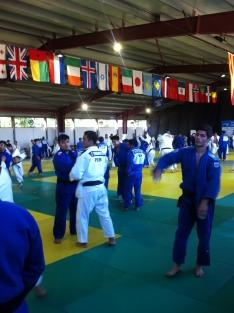 Foto 3 - Alexis Rosa y Rocío García se preparan para el Europeo Universitario de Judo