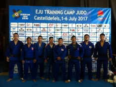 Foto 2 - Alexis Rosa y Rocío García se preparan para el Europeo Universitario de Judo
