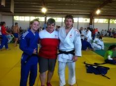 Alexis Rosa y Rocío García se preparan para el Europeo Universitario de Judo