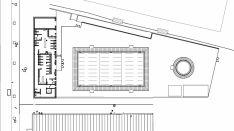 Plano del proyecto de las piscinas./AG