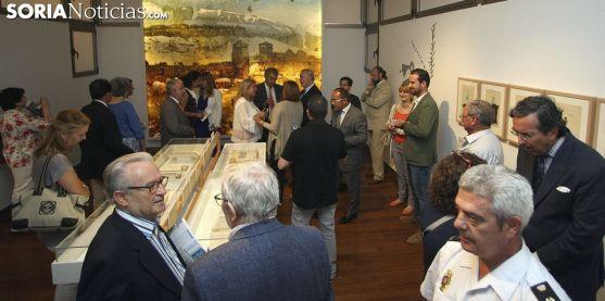 Una de las salas del Numantino en la muestra abierta este martes. /SN
