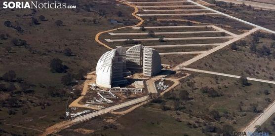 Imagen aérea del PEMA. /SN