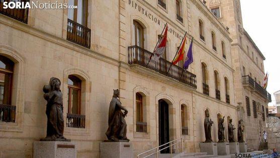 Entrada principal del Palacio Provincial. /SN