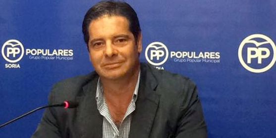 Javier Martín, concejal del PP en el Consistorio capitalino.