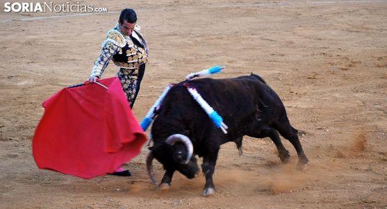 Manzanares torenado de muleta este Domingo de Calderas. /SN